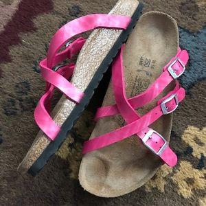 Birki's Birkenstock sandals, 39, 8